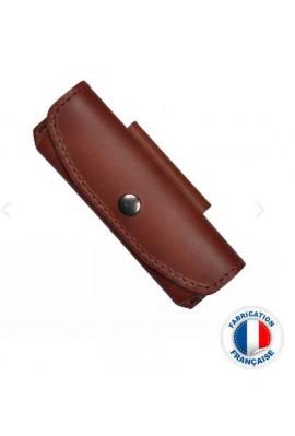 Etui cuir Le Thiers marron Poids : 0.150 kg