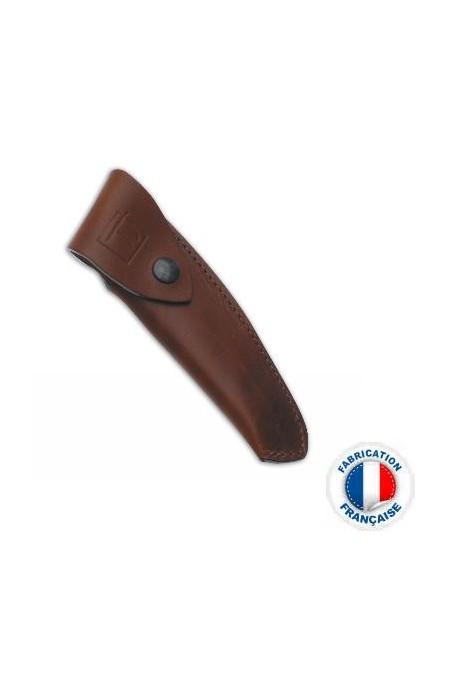 Etui cuir Le Thiers marron Vertical Poids : 0.150 kg
