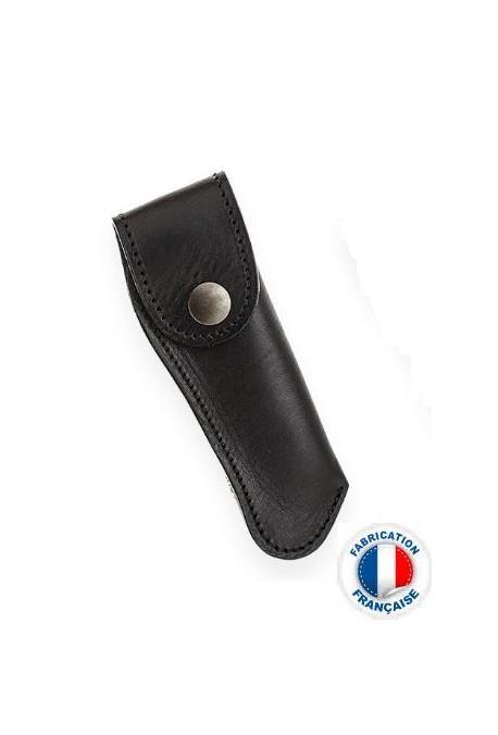 Etui cuir Le Thiers noir Vertical Poids : 0.150 kg