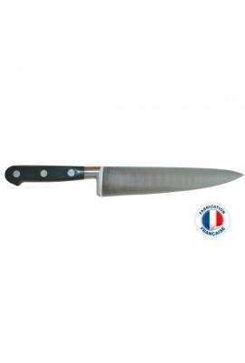 Couteau éminceur ou chef SABATIER IDEAL FORGE 25 cm Poids : 0,750 kg